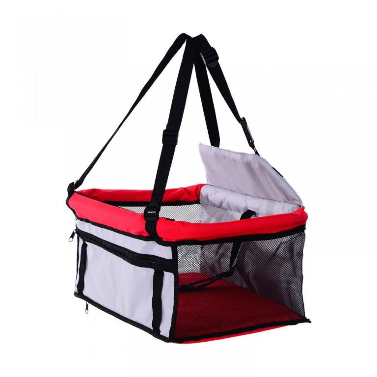 Ochranná deka taška pro psy do auta 38 x 38 x 24 cm