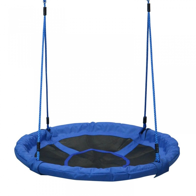 Houpací síť - čapí hnízdo | modré