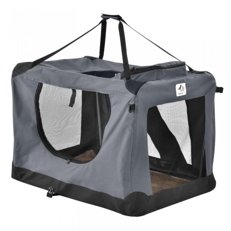 Přepravní box pro psy Lassie 60 x 42 x 44 cm | šedý