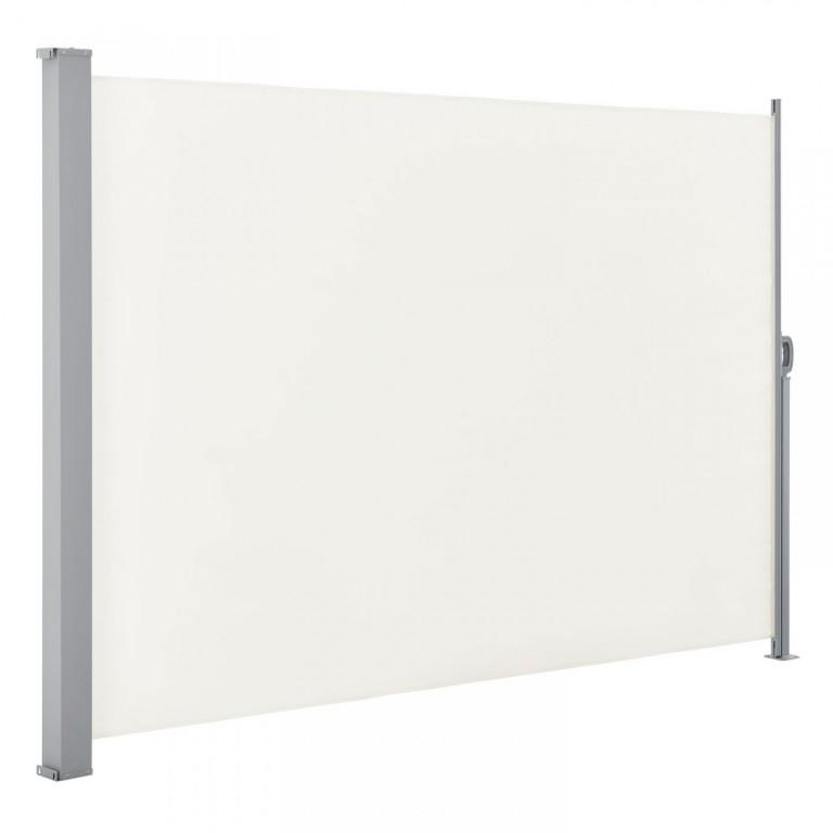 Venkovní boční markýza na zastínění terasy 180 x 300 cm | béžová