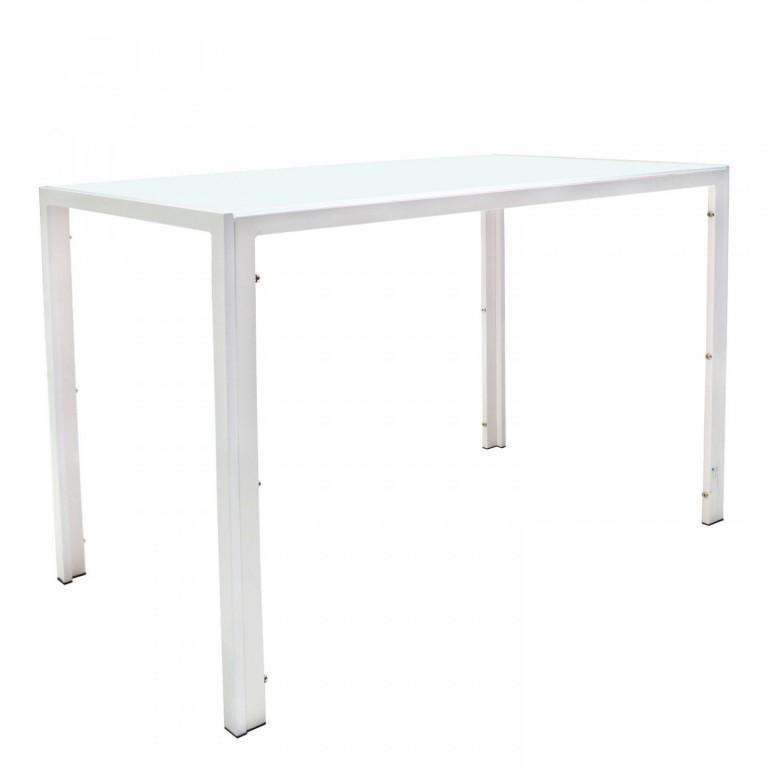Jídelní stůl Manhattan L 105 x 60 x 75 cm | bílý
