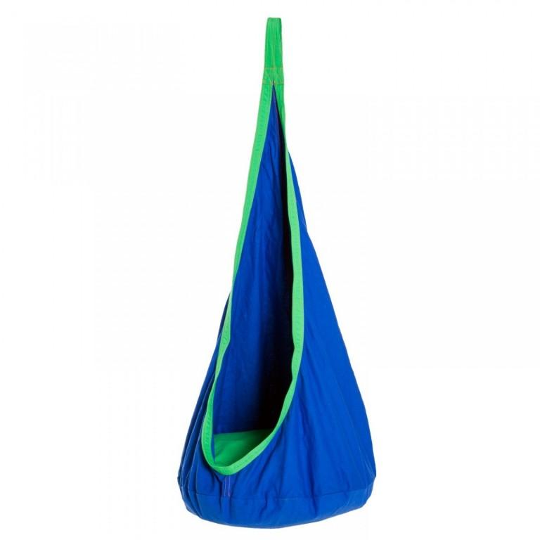 Závěsný houpací vak | modrý
