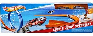 Mattel Hot Wheels Loop & Jump Speedway