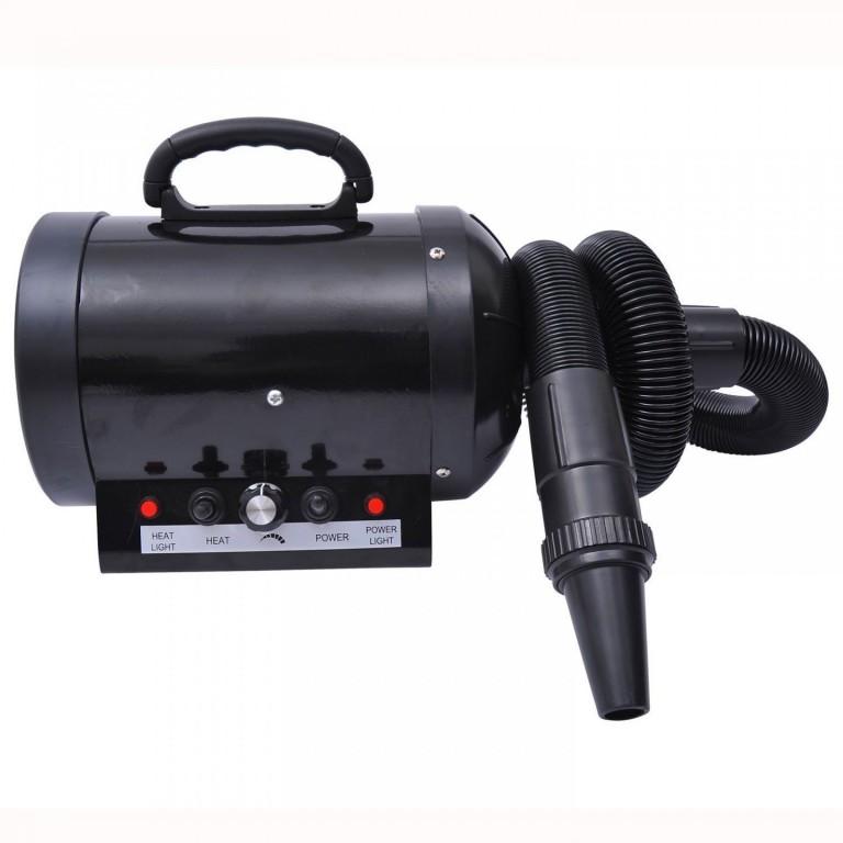 Fén pro psy s ohřívačem 2400W | černý
