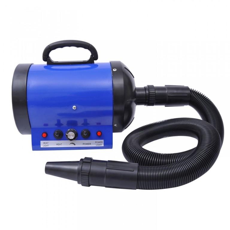 Fén pro psy s ohřívačem 2400W | modrý