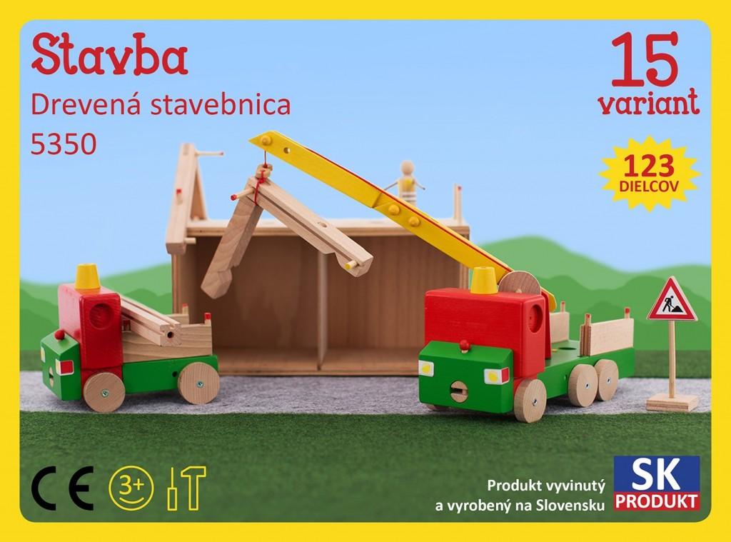 0476948ada4 Dřevěná stavebnice Stavba Moy Toy