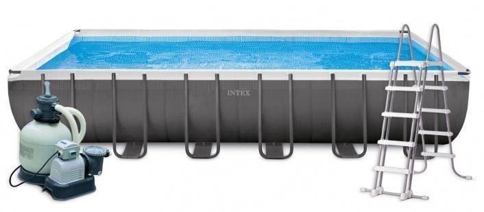 Bazén Ultra Frame 7,32 x 3,66 x 1,32 m | kompletset s pískovou filtrací