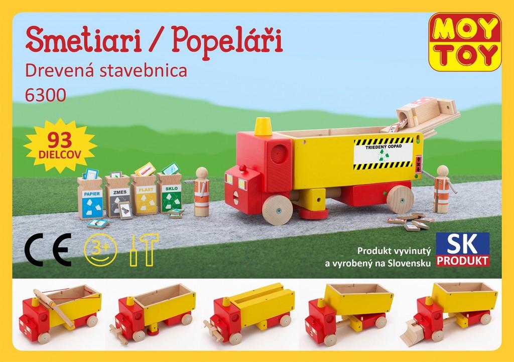 Dřevěná stavebnice Popeláři Moy Toy