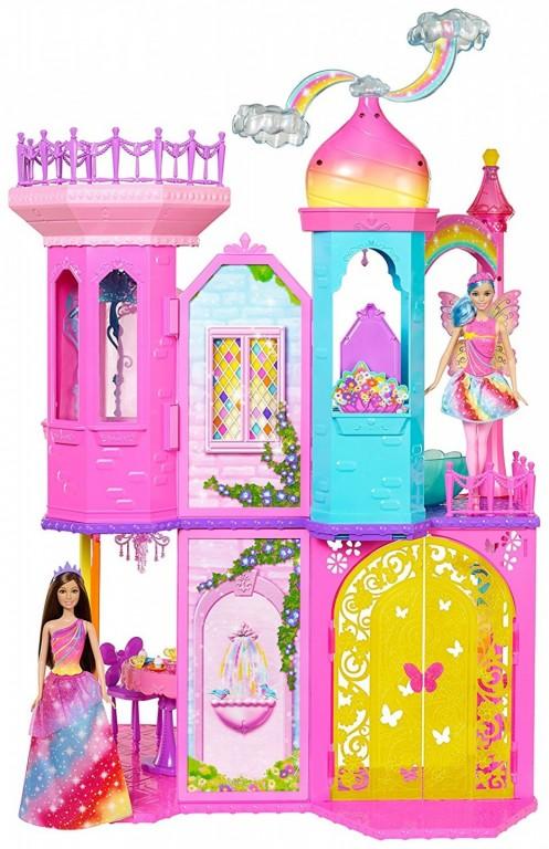 Mattel Barbie Kouzlená dvířka Velký princeznin zámek