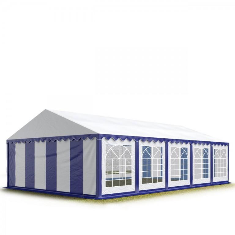 Párty stan Economy 5 x 10 m | modro-bílý