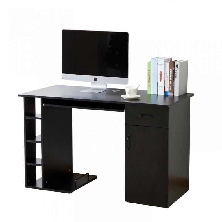 Kancelářský PC stůl 120 x 60 x 75 cm | černý