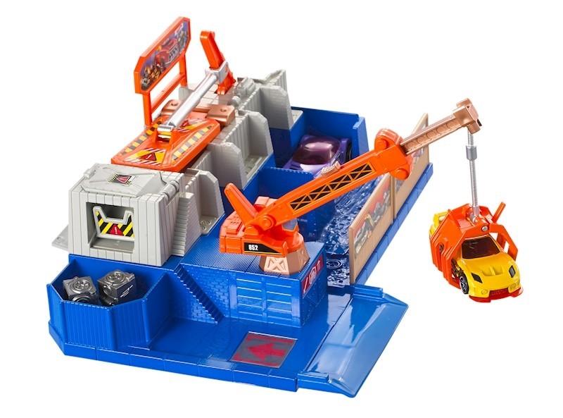 Mattel Hot Wheels Car Crusher