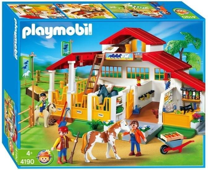 Playmobil 4190 Velká stáj