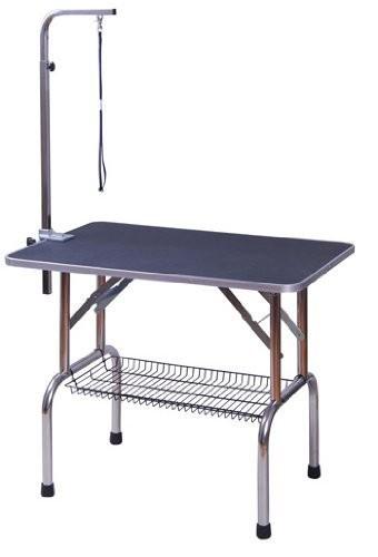 Nastavitelný stůl na stříhání psů | černý