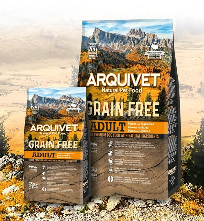 Arquivet Dog 2 kg | krůtí se zeleninou / bez obilovin