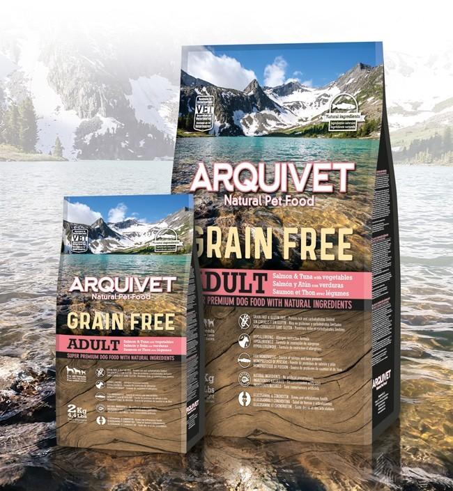 Arquivet Dog 2 kg | losos a tuňák / bez obilovin