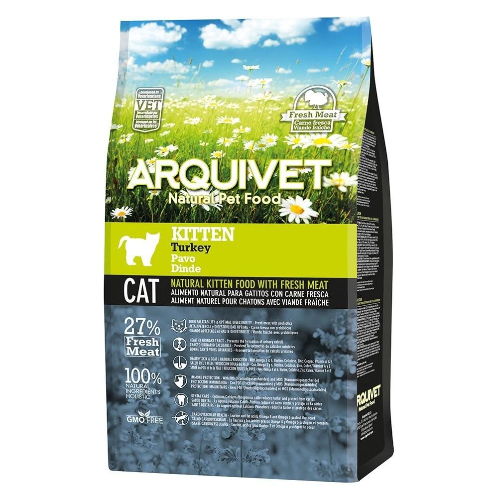 Arquivet Arquivet Cat Kitten 1,5 kg | krůtí maso