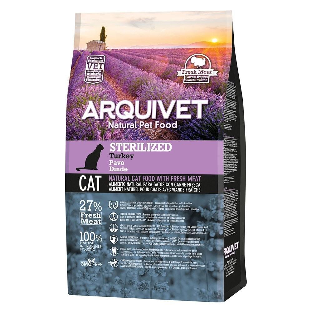 Arquivet Arquivet Cat Sterilized 10 kg | krůtí maso