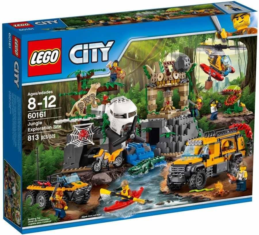 Lego LEGO City 60161 Průzkum oblasti v džungli