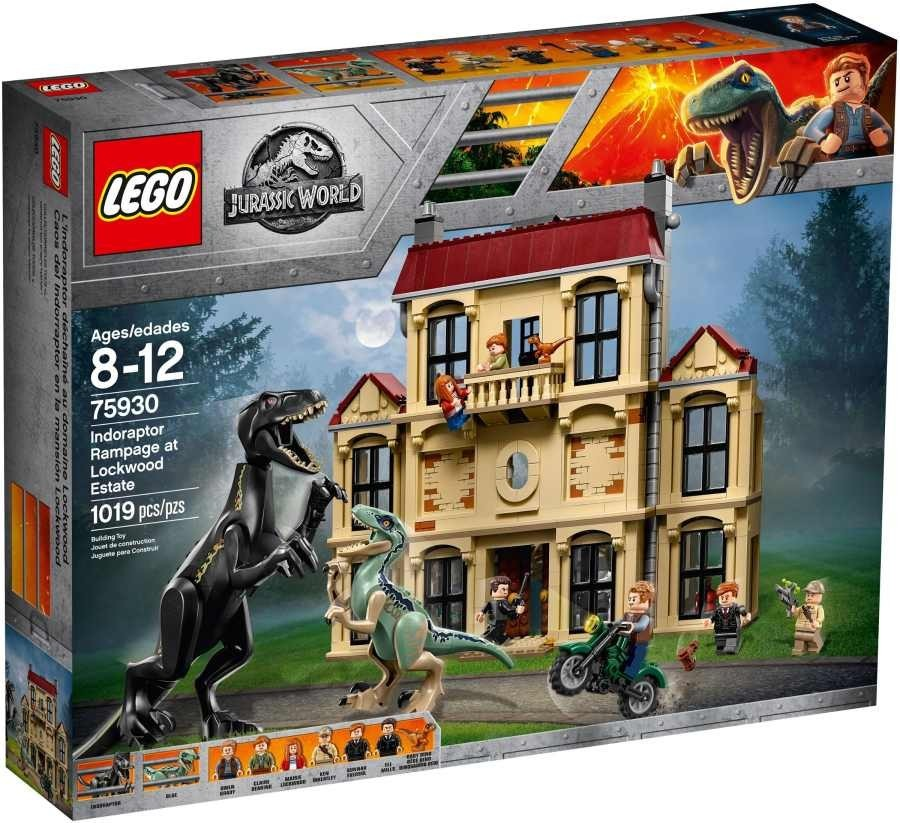 Lego LEGO Jurassic World 75930 Řádění Indoraptora v Lockwoodově sídle