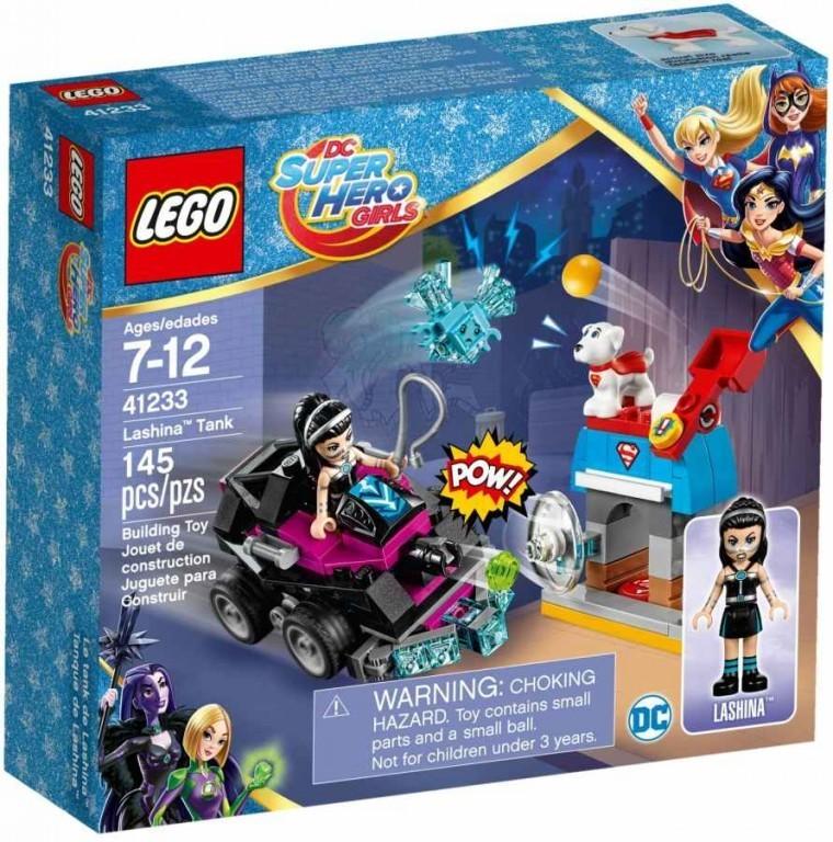Lego Super Heroes 41233 Lashina a vozidlo do akce