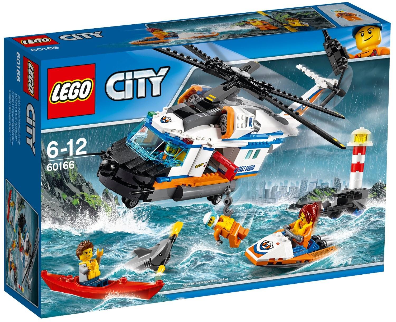 Lego LEGO City 60166 Výkonná záchranářská helikoptéra