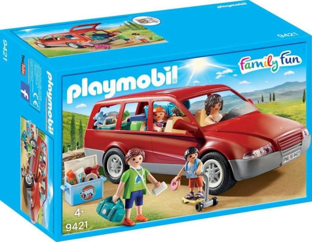 Playmobil Playmobil 9421 Rodinné auto na výlet Playmobil