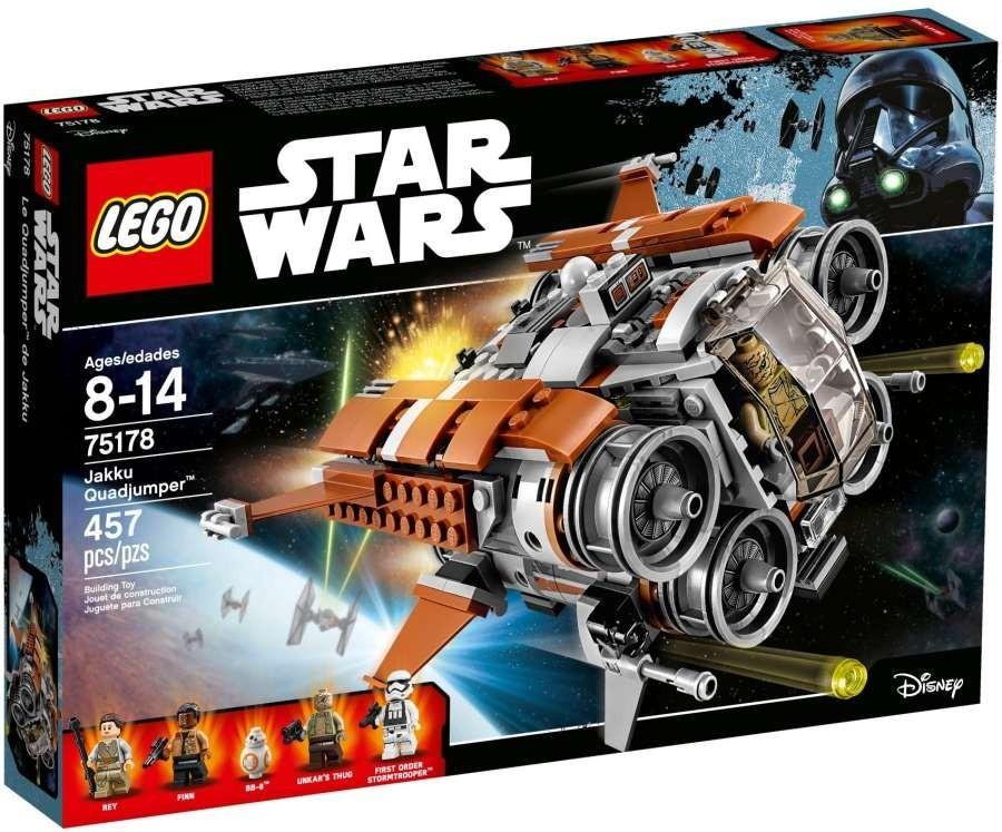 Lego LEGO Star Wars 75178 Loď Quadjumper z Jakku