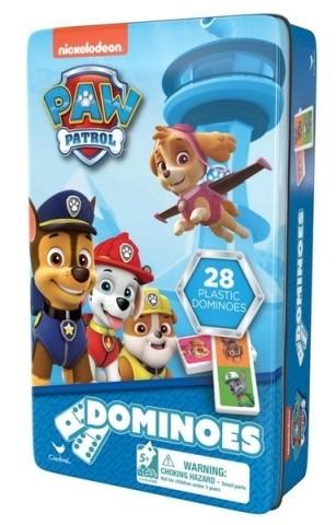 Domino v plechové krabičce Tlapková patrola
