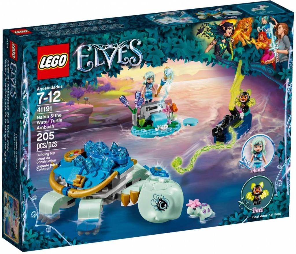 Lego LEGO Elves 41191 Naida a záchrana vodní želvy