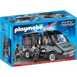 Playmobil 6043 Policejní auto se světlem a zvukem