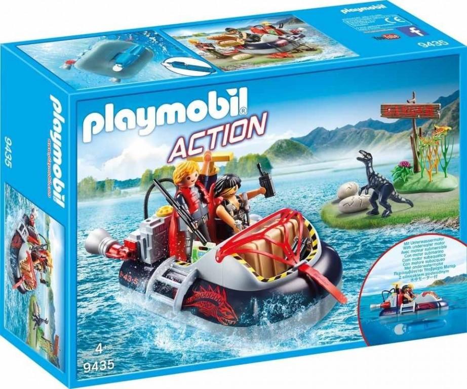 Playmobil 9435 Nafukovací vznášedlo s motorem