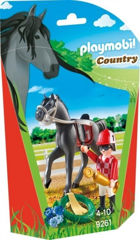 Playmobil 9261 Žokej na koni