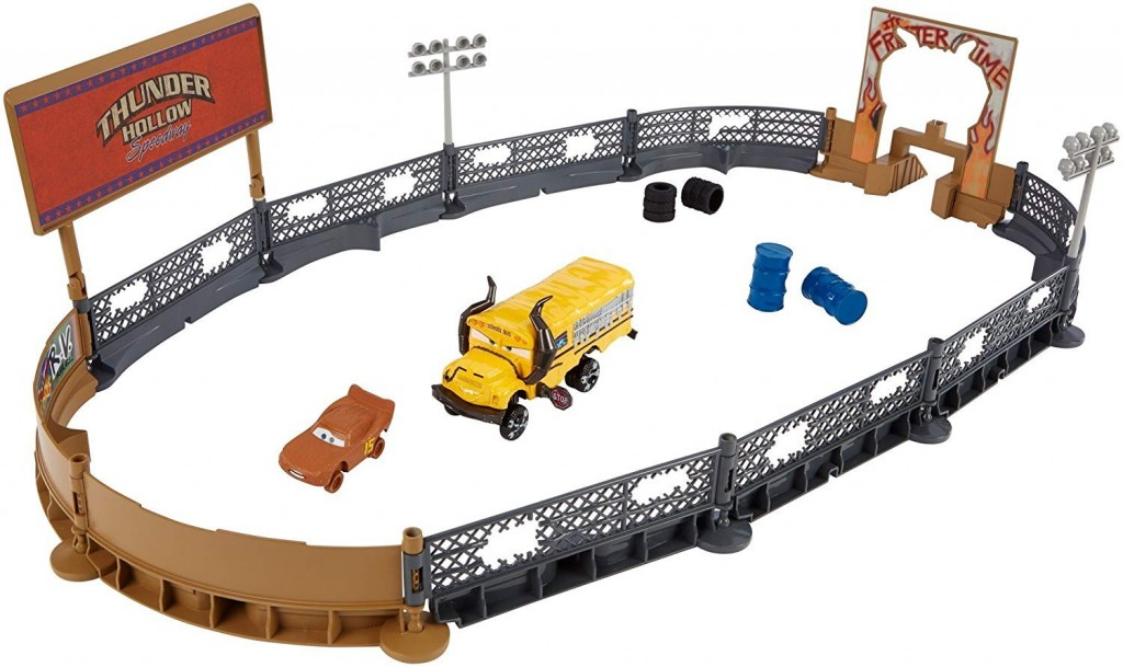 Mattel Cars 3 Cool Crash Derby hrací set