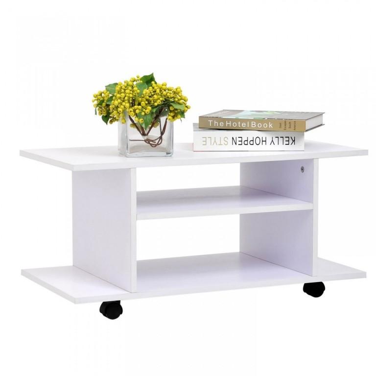 TV stolek Matt | bílý