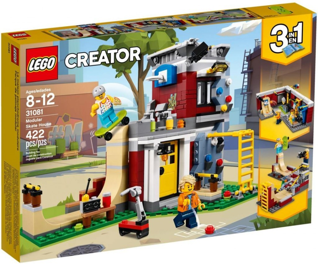 Lego LEGO Creator 31081 Dům skejťáků