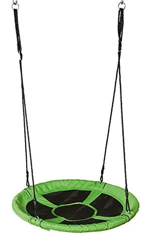 Houpací síť - čapí hnízdo | zelené