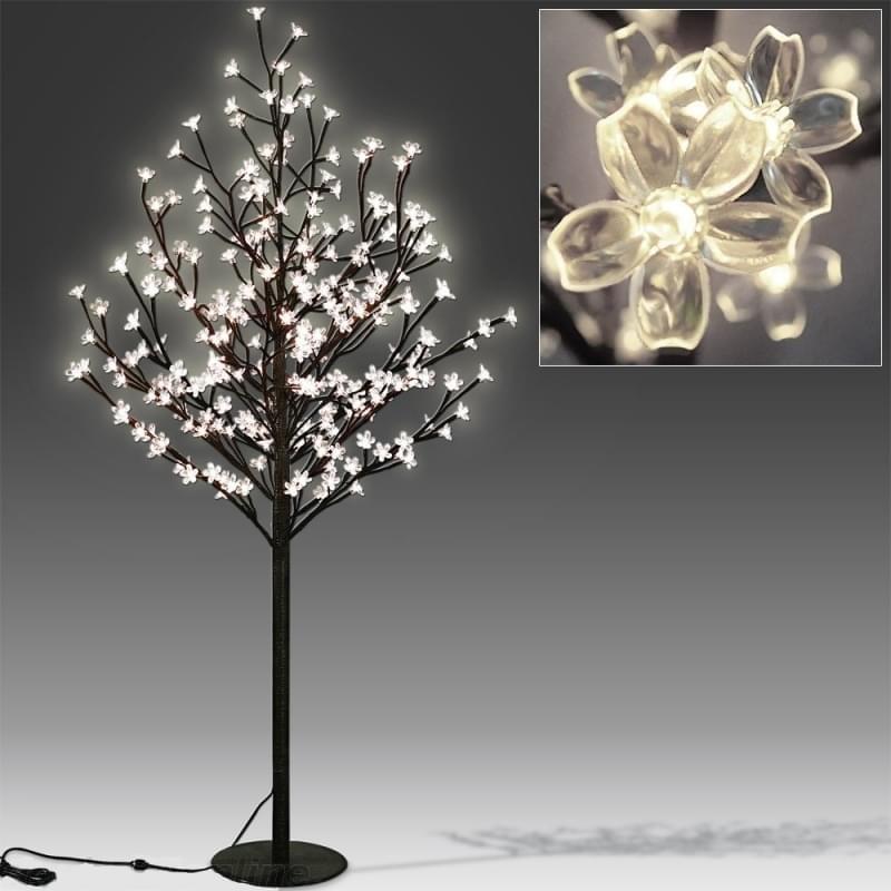 Goleto Dekorační svítící LED stromek s 200 LED | teplá bílá