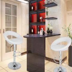 2x Barová židle Coria | bílá č.3