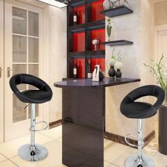 2x Barová židle Coria | černá č.4