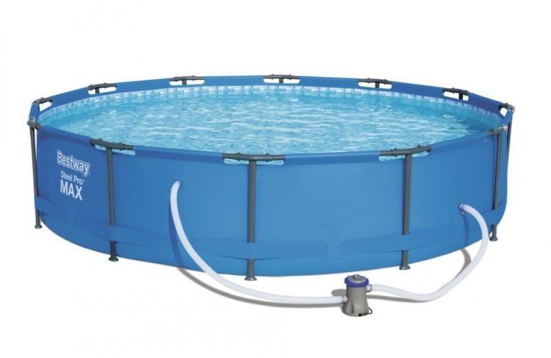Bazén Bestway Steel Pro Max 3,66 x 0,76 m s kartušovou filtrací