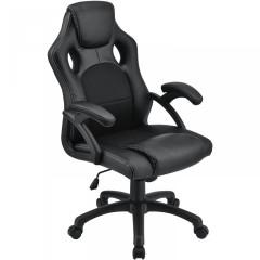 Kancelářská židle Racing design   černá č.1