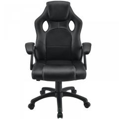Kancelářská židle Racing design   černá č.2