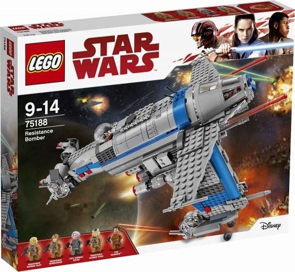 Lego LEGO Star Wars 75188 Bombardér odporu