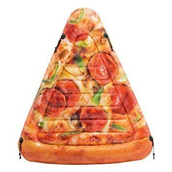 Nafukovací lehátko do vody Intex Pizza