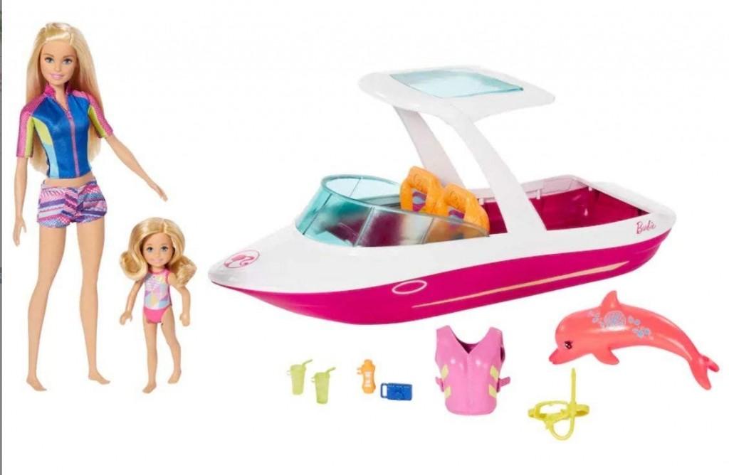 Mattel Barbie Magický delfín Oceánská loď s panenkami