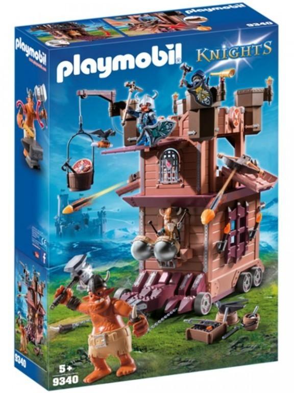 Playmobil 9340 Troll a pojízdná trpasličí pevnost