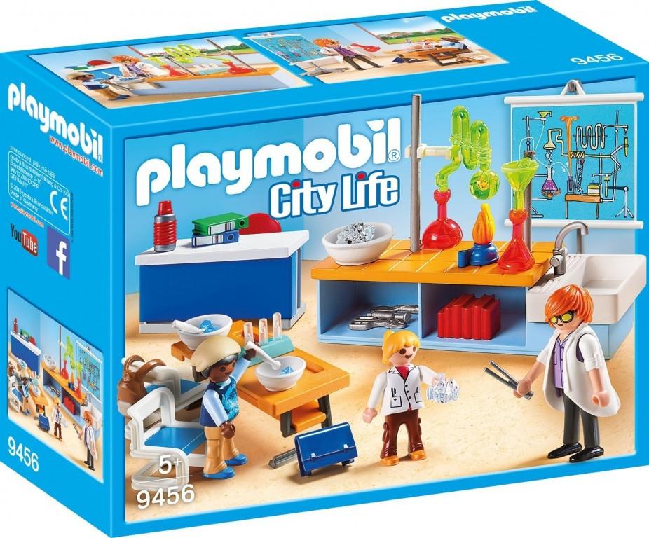 Playmobil 9456 Učebna chemie