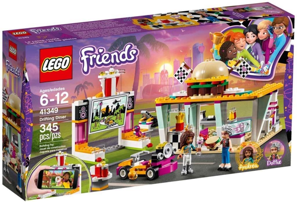 Lego LEGO Friends 41349 Jídelní vůz
