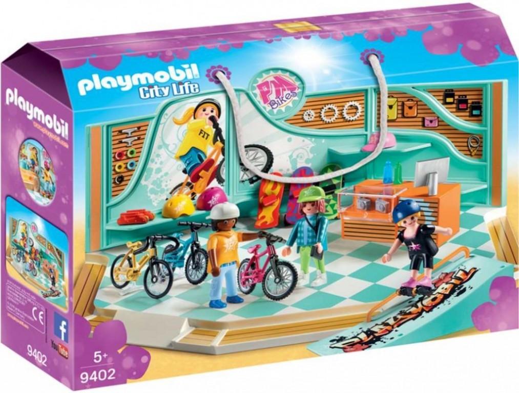 Playmobil 9402 Cyklo & Skate Shop
